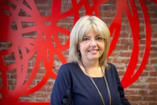 Karen Gallagher-Burt at the Social Impact Lab