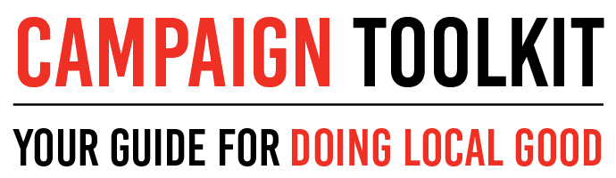 Campaign Toolkit: Your guide for doing local good