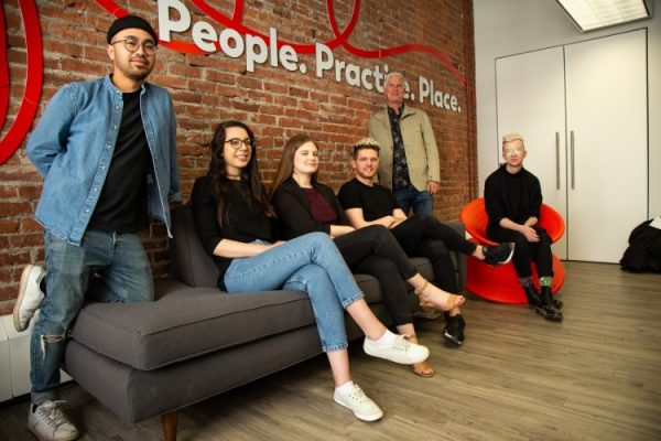 students create videos on poverty