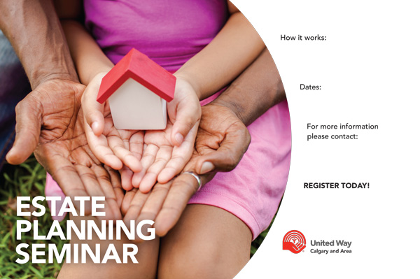 Estate Planning Seminar poster template preview
