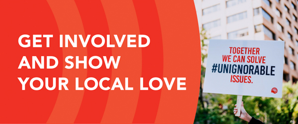 Get involved and show your local love email banner preview