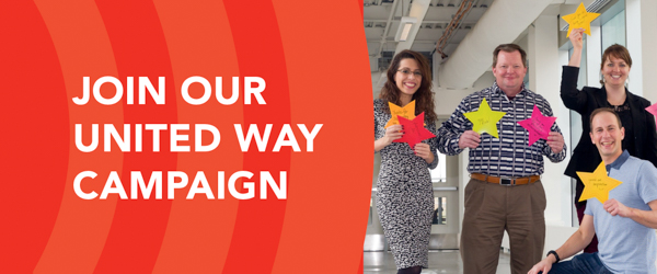 Join our United Way Campaign email banner preview