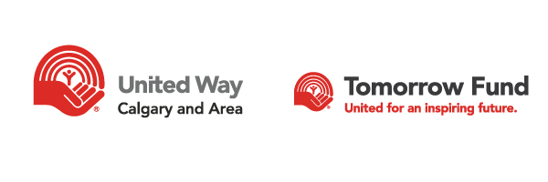 United Way of Calgary and Area and Tomorrow Fund logos