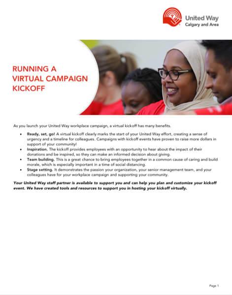 Virtual Campaign Kickoff Guide preview