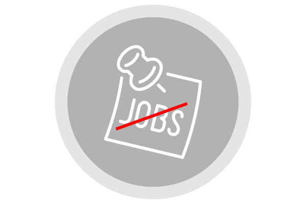 no jobs icon