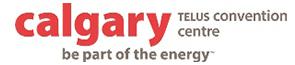 Calgary Telus convention centre logo